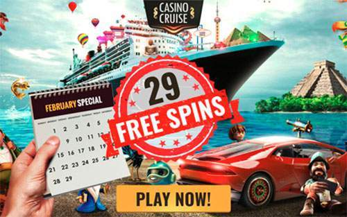 casino cruise 29 free spins leap year bonus