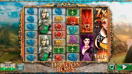 dragon born 6 reel casino game