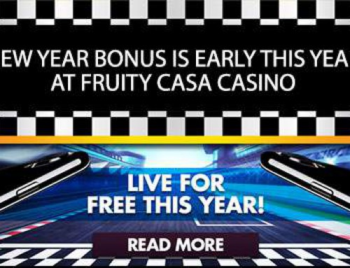 Win € 2,000 per month at Fruity Casa
