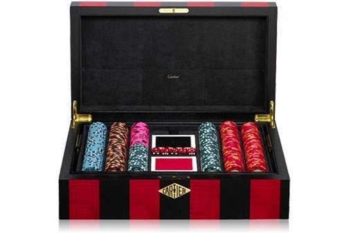 exclusive poker set cartier