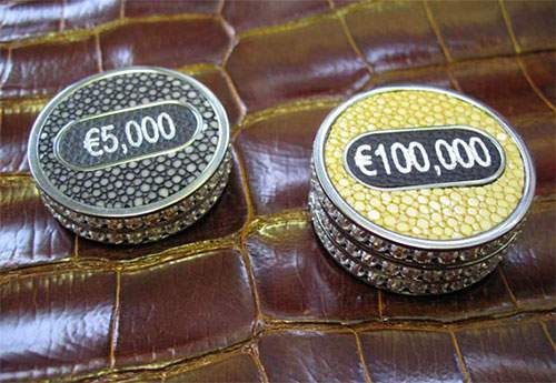 most expensive exclusive poker set geoffrey parker