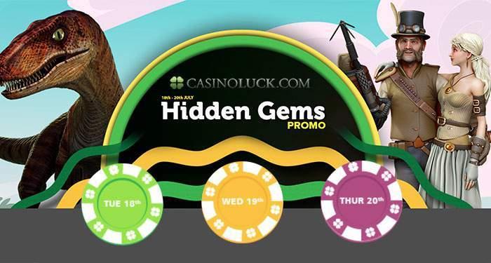 casinoluck hidden gems promotion