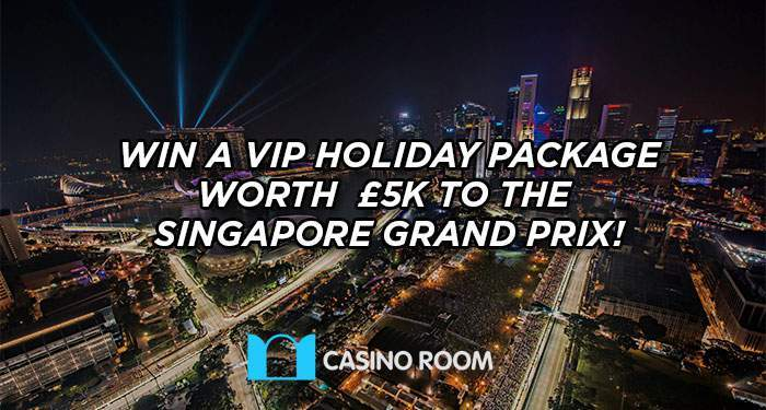 win VIP tickets to the Singapore Grand Prix
