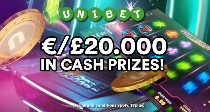 Win A Share of £/€20,000 in Unibet Casino's Best of 2017 Tournament