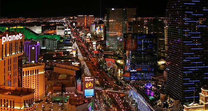 2017 recorde in revenue on the las vegas strip