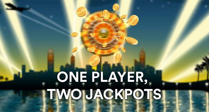 Player wins not one, but two jackpots!